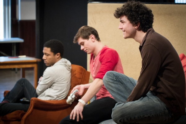 Photo Flash: In Rehearsal for Steppenwolf for Young Adults' Chicago Premiere of LEVELING UP, Beg. Tonight